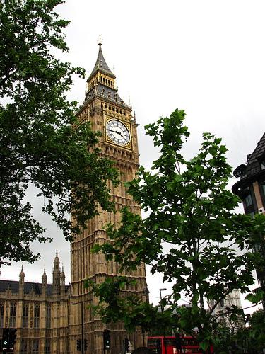 London - Torre del Parlamento