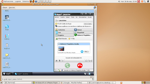 Ubuntu y Skype