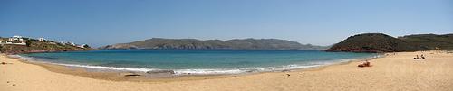 Mykonos - Playa salvaje de Panormos