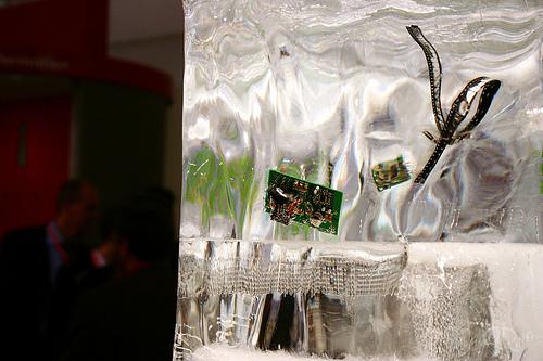 electronica 2008 - Componentes en hielo