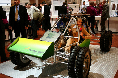 electronica 2008 - Buggy Freescale