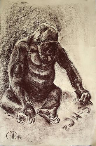 Dibujo - Homo Scientificus