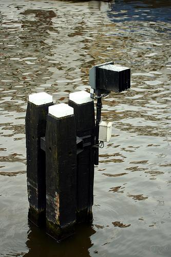 Amsterdam - Balizas de madera