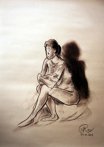 Dibujo - Cruzada de brazos