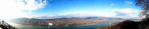 Visegrád - Danubio desde el castillo de Matías