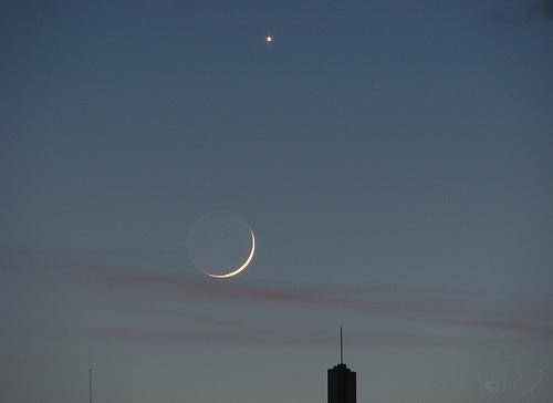 München - La Luna y Venus