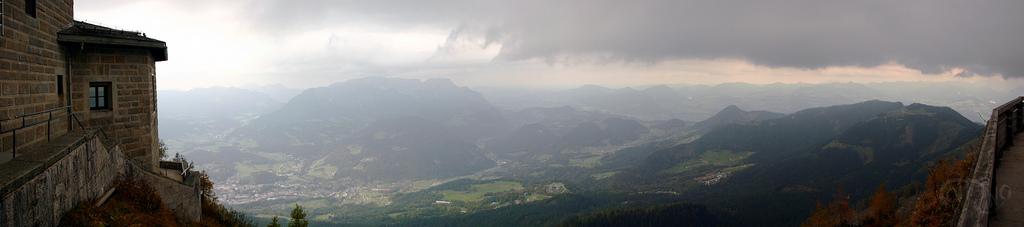 Kehlstein - Vista sobre el valle