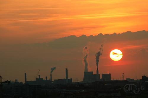 Berlín - Puesta de sol
