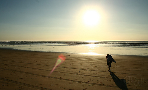 Pismo Beach - Amália en la playa