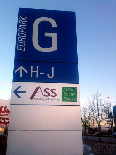 """München - Cartel """"Ass"""""""
