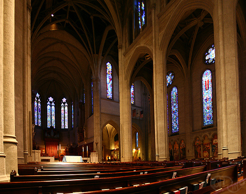 San Francisco, CA - Interior de Grace Cathedral