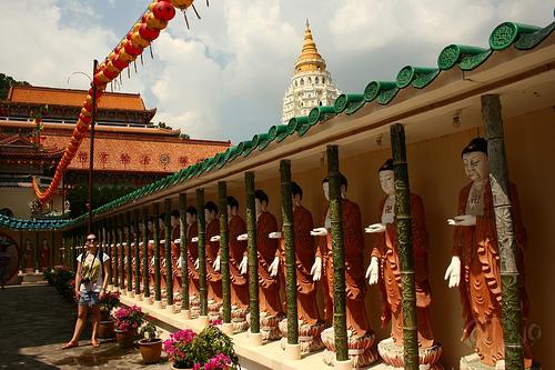 Penang - De repente, Buddhas