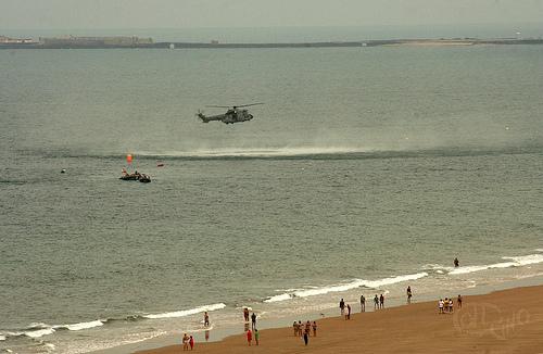 Cádiz - Helicóptero de rescate 1