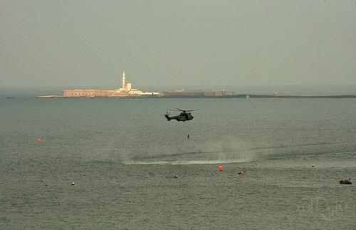 Cádiz - Helicóptero de rescate 2