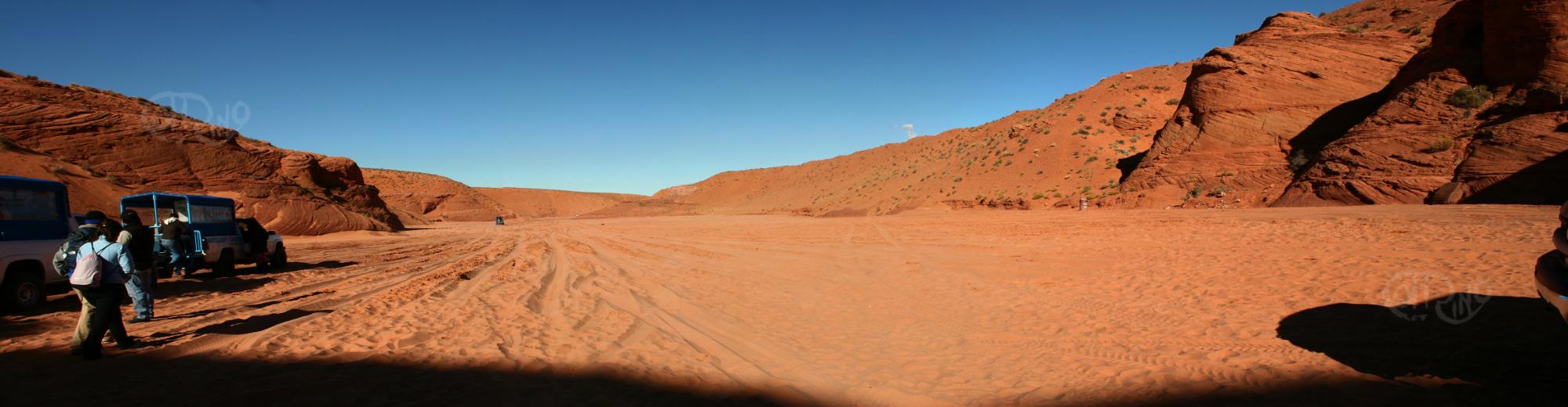 Antelope Canyon - Desierto
