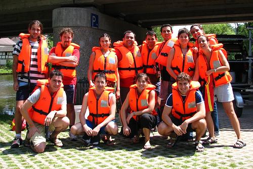 Solnhofen - Todos con salvavidas