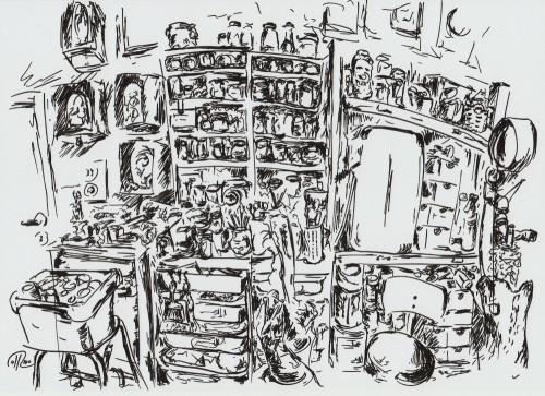 Dibujo - Im Atelier