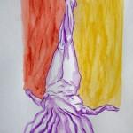 Dibujo - Ángela caída