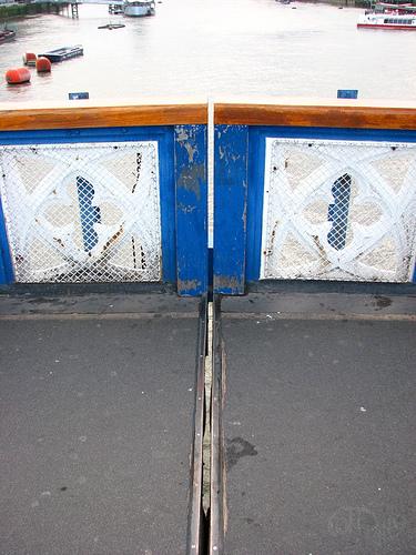 London - Separación del Tower Bridge