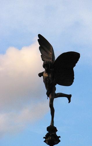 London - Cupido en Piccadilly Circus