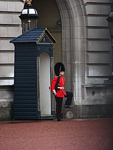 London - Guardia real