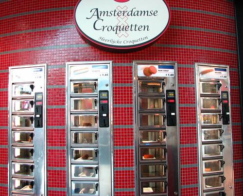 Amsterdam - Máquina de croquetas