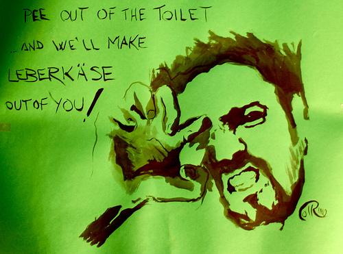 Poster - No peeing