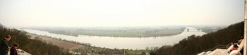 Walhalla - Vista del Danubio