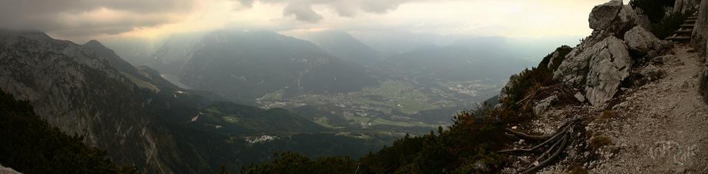 Kehlstein - Vista del Königsee