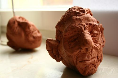 Escultura - Tsantsa 1