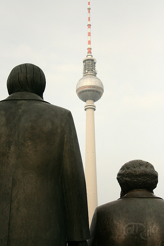 Berlín - Marx y Engels