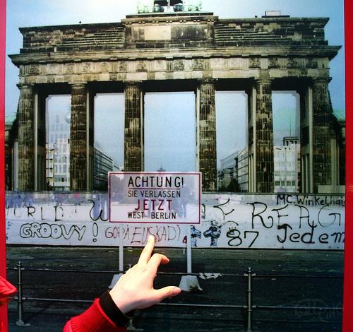 Berlín - Puerta de Brandemburgo y muro