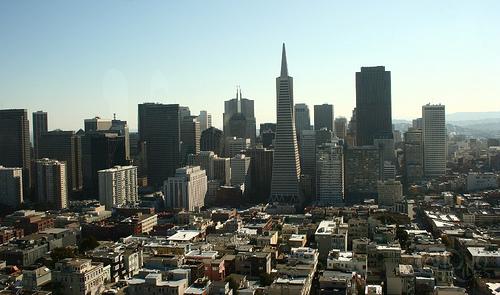 San Francisco - Skyline desde Coit Tower