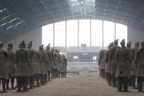 Xian - Taller de reparación de guerreros