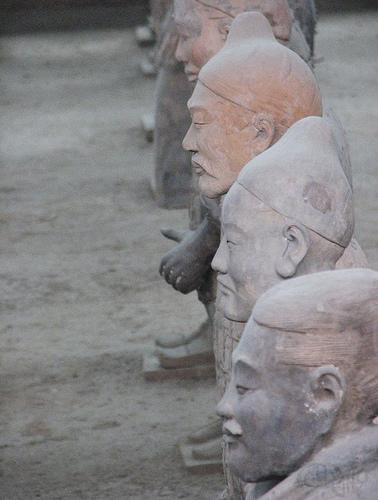 Xian - Caras diferentes