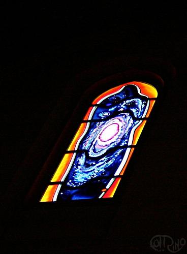 San Francisco, CA - Vidriera en Grace Cathedral