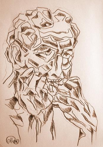Dibujo - Hambre