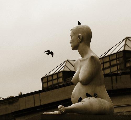 London - Alison Lapper embarazada