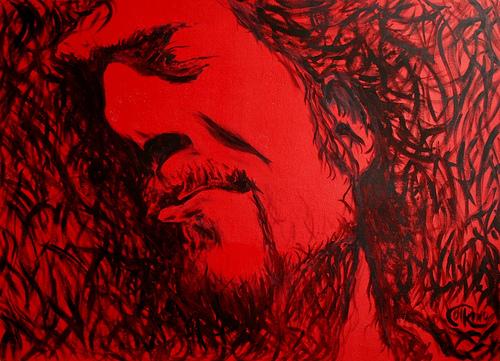 Óleo - Rojo sangre