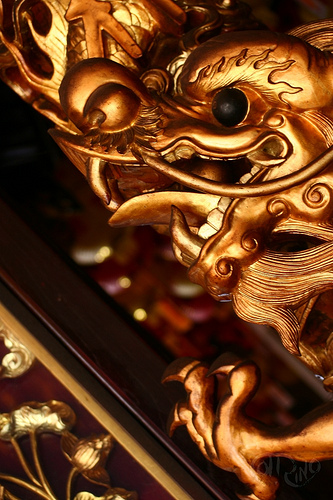 Penang - Dragón dorado