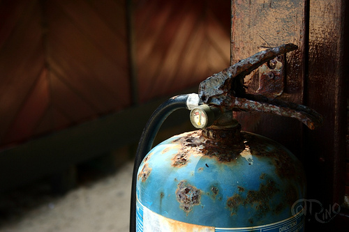 Tioman - Extintor de incendios