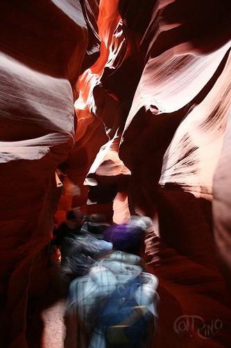 Antelope Canyon - Pasillo