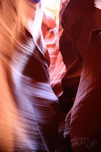 Antelope Canyon - Rocas enfrentadas